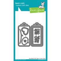 Lawn Fawn - Say What? Gift Tags - Stanze