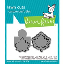 Lawn Fawn - Reveal Wheel Fall Leaf Add-On - Stanze