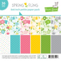 Lawn Fawn - Petite Paper Pack 6x6 - Spring Fling