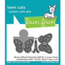 Lawn Fawn - Reveal Wheel Butterfly Add-On - Stanze