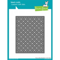 Lawn Fawn - Fancy Lattice Backdrop - Stanze