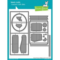 Lawn Fawn - Center Picture Window Card - Stanzset
