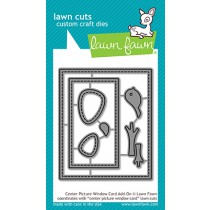 Lawn Fawn - Center Picture Window Card Add-On - Stanze