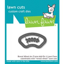 Lawn Fawn - Reveal Wheel Arc Frame Add-On - Stanze