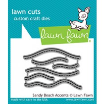 Lawn Fawn - Sandy Beach Accents - Stanze
