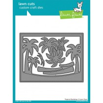 Lawn Fawn - Tropical Backdrop - Stanze