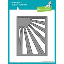 Lawn Fawn - Sunray Backdrop - Stanze