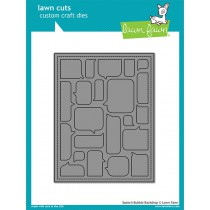 Lawn Fawn - Speech Bubble Backdrop - Stanze