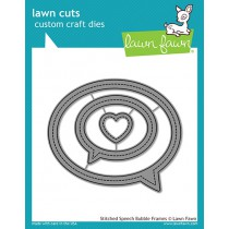 Lawn Fawn - Stitched Speech Bubble frames - Stanze