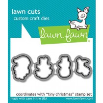 tiny christmas lawn cuts