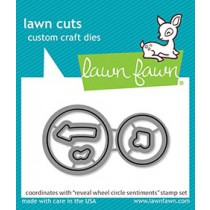 Lawn Fawn - reveal wheel circle sentiments - Stanzen