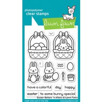 Lawn Fawn - easter before 'n afters - Clear Stamp 3x4