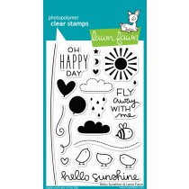 clear stamps lawn fawn hello sunshine für scrapbooking & cardmakings