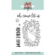 Neat & Tangled - Little Baby Jesus - Clear Stamps 3x4