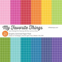 My Favorite Things - Graphic Grids - Paper Pad 6x6