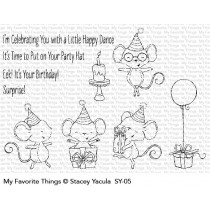 My Favorite Things - Its A Mice Time To Celebrate - stamp