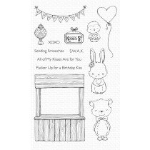My Favorite Things - Kissing Booth - Clear Stamp 5x8