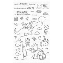 My Favorite Things - Magical Friends - Clear Stamp 4x8