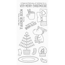 My Favorite Things - Merry Christmoose - Clear Stamp