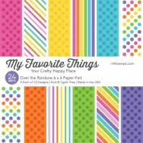 My Favorite Things - Over The Rainbow - Paper Pad 6x6