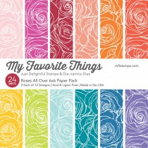 My Favorite Things - Roses All Over - Paper Pad 6x6