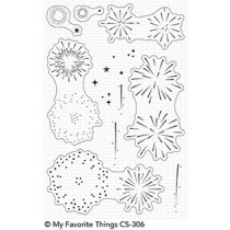 My Favorite Things - Fireworks - Clear Stamp 4x6