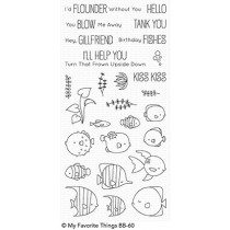 My Favorite Things - Gill Friends - Clear Stamp 4x8