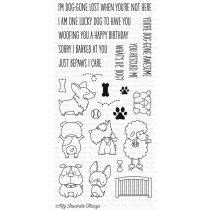 My Favorite Things - Lucky Dog - Clear Stamp