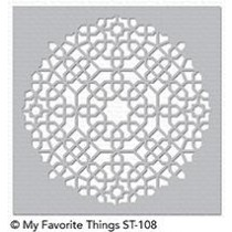 My Favorite Things - Schablone - Maroccan Mosaic
