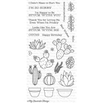 My Favorite Things - Sweet Succulents - Clear Stamp 4x8