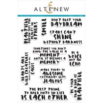 Altenew - Painted Inspirations - Clear Stamps 6x8