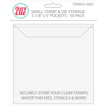 Avery Elle - Stamp & Die Storage Pockets - Small 50/stk.