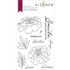 Altenew - Smiles and Hugs - Clear Stamp 4x6