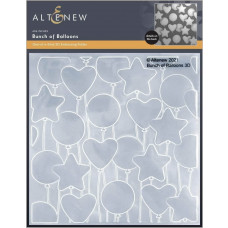 Altenew - 3D Embossing Folder - Bunch of Balloons 3D