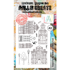 AALL and Create - A6 Stamps - City 52