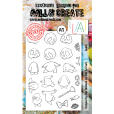 AALL and Create - A6 Stamps - Quirks