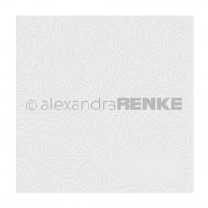 Alexandra Renke - Prägefolder - Muster Höhenlinien