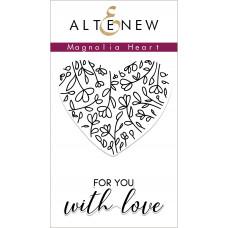 Altenew - Magnolia Heart - Clear Stamps 2x3