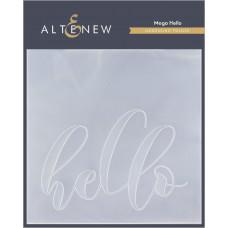 Altenew - 3D Debossing Folder - Mega Hello