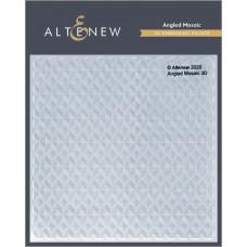 Altenew - 3D Embossing Folder - Angled Mosaic