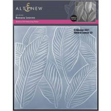 Altenew - 3D Embossing Folder - Banana Leaves 3D