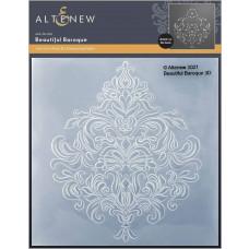 Altenew - 3D Embossing Folder - Beautiful Baroque 3D