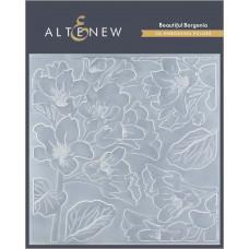 Altenew - 3D Embossing Folder - Beautiful Bergenia