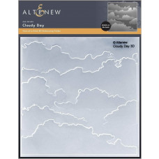 Altenew - 3D Embossing Folder - Cloudy Day