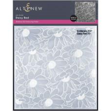 Altenew - 3D Embossing Folder - Daisy Bed 3D