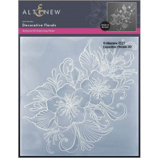Altenew - 3D Embossing Folder - Decorative Florals 3D