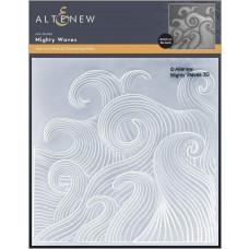 Altenew - 3D Embossing Folder - Mighty Waves