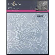 Altenew - 3D Embossing Folder - Monstera Leaves 3D