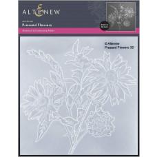 Altenew - 3D Embossing Folder - Pressed Flowers
