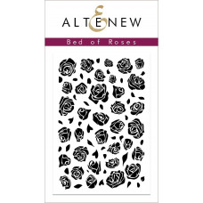 Altenew - Bed of Roses - Clear Stamps 2x3